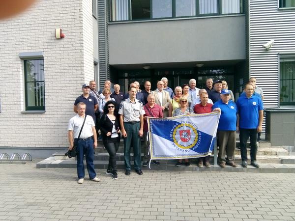 Policijos veteranų pažintinė kelionė į Anykščius