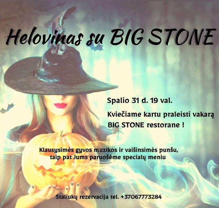 HELOVINAS SU BIG STONE
