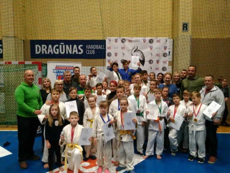 Klaipėdoje vyko atviras Klaipėdos jaunimo, jaunučių, vaikų dziudo čempionatas