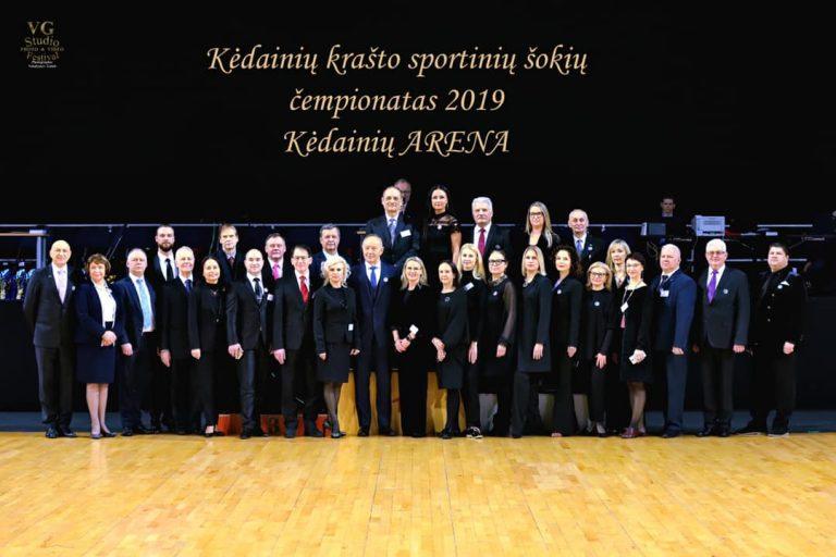 Lietuvos reitingo sportinių šokių atviras Kėdainių krašto čempionatas 2019