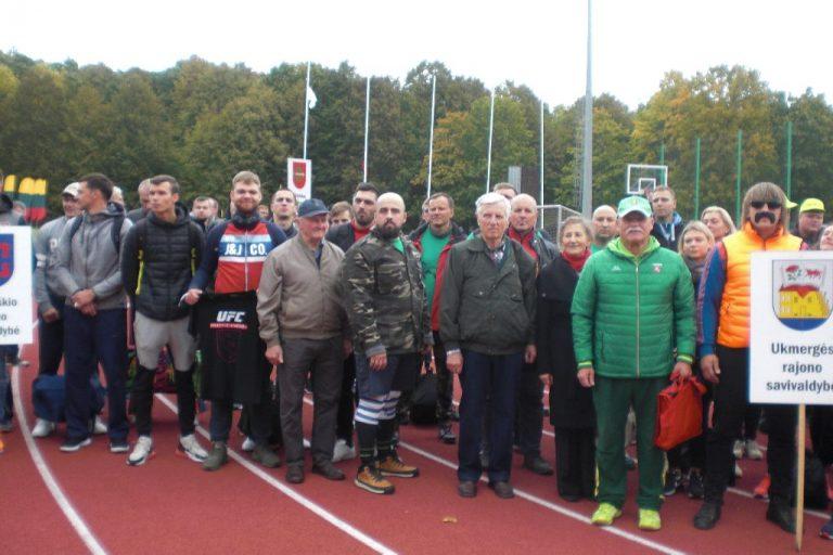 Rungtyniavo seniūnijų sportininkai