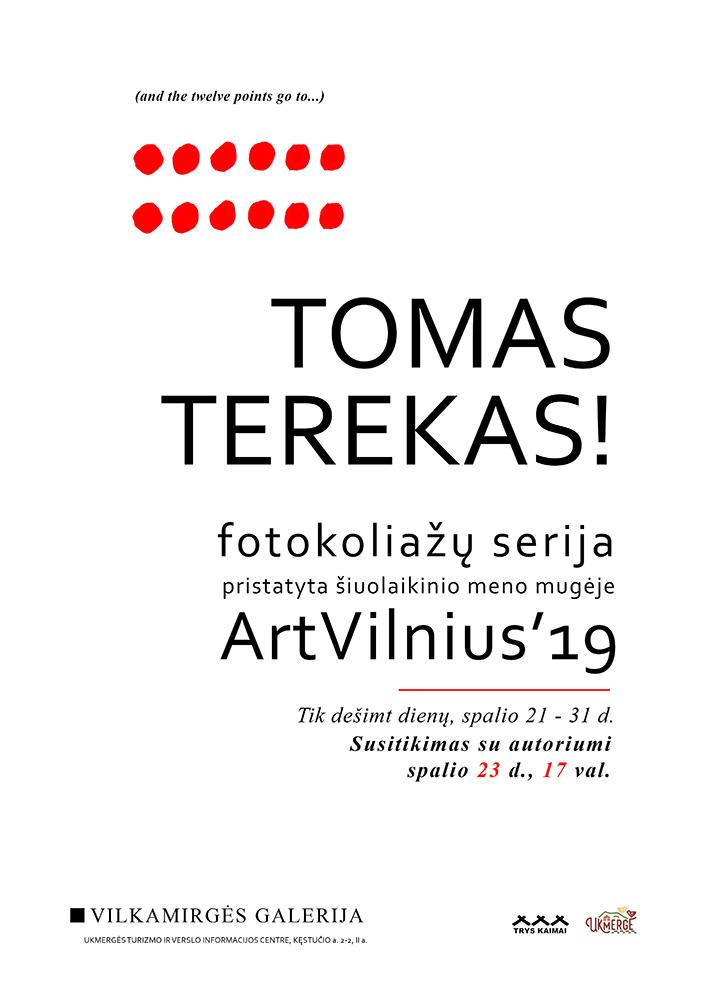 """Tomo Tereko fotokoliažų paroda """"Vilkamirgės"""" galerijoje"""