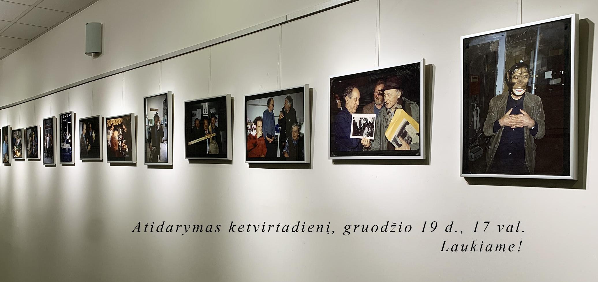 """Arūno Kulikausko darbų paroda """"Vilkamergės"""" galerijoje"""