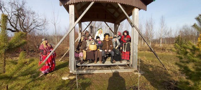 Dalyvavome latviškose Užgavėnėse