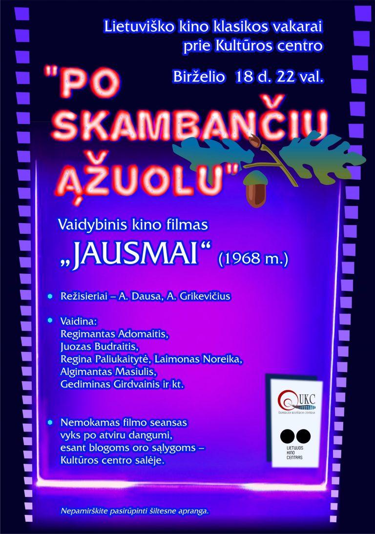 JAUSMAI (Lietuviško kino klasika 1968 metai)
