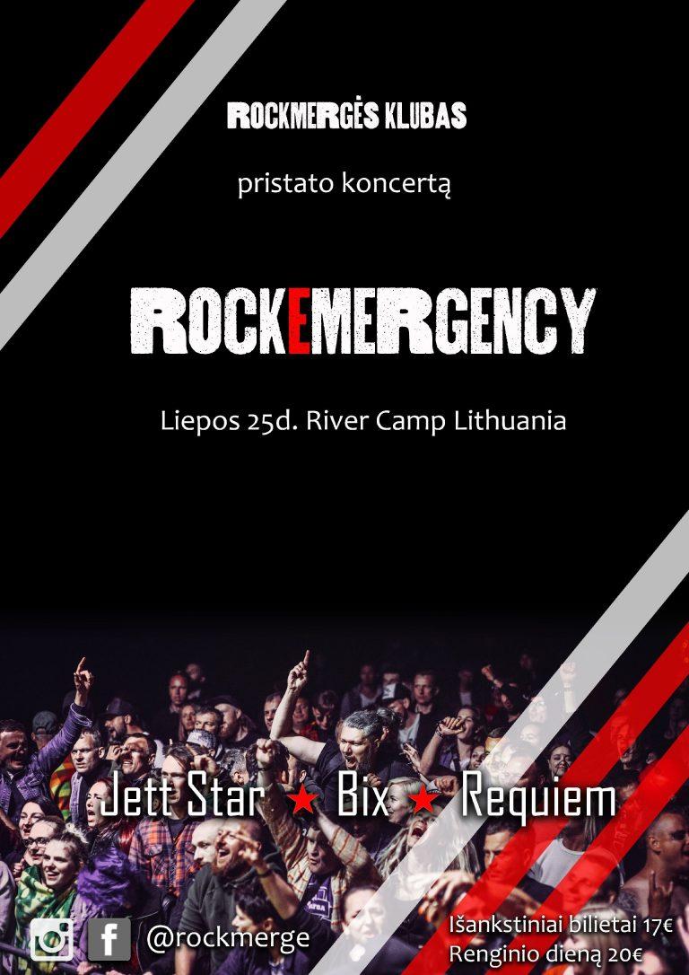 Rockmergės festivalis kviečia